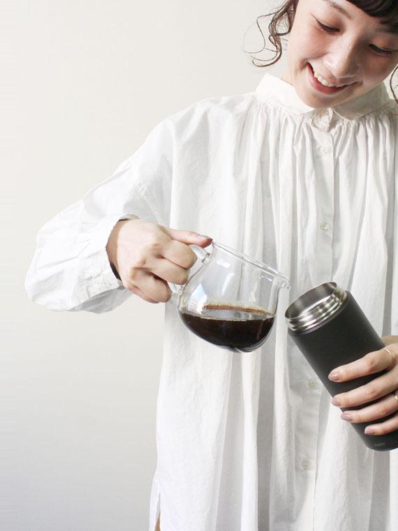 こだわって淹れたコーヒーを、TRAVEL TUMBBLERで持ち出そう