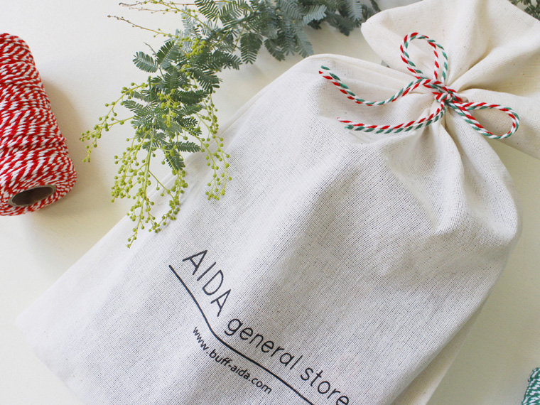 AIDA general storeの巾着ギフト袋が登場!