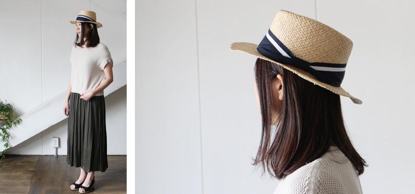 ストレートヘアをおろしてクールな雰囲気を出しつつ、 柔らかな素材感を生かしたスタイリングで女性らしさを演出。