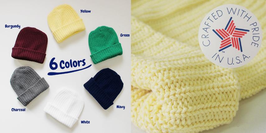カラーは6色・素材はUSAコットン100%