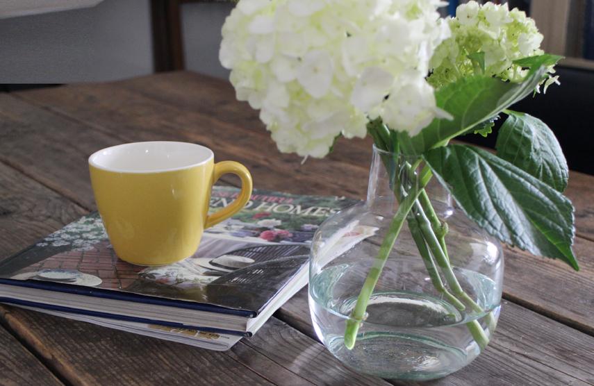 一人の時間をお花とともに楽しむ
